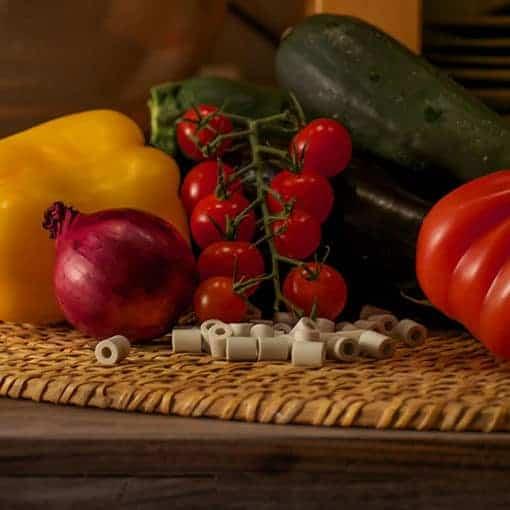 perles filtrantes aliments