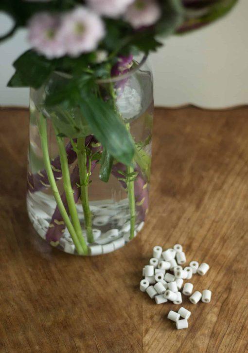Perles de céramiques aux micro-organisme EM pour vase