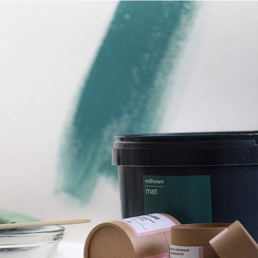 Poudre de céramique EM pour purifier la peinture