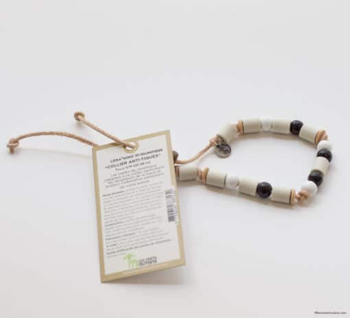 Collier animaux perles anti tiques