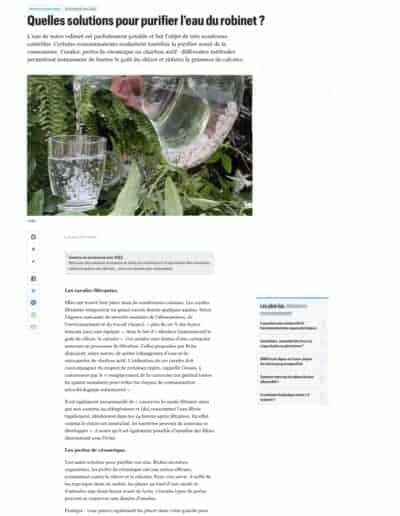 Article Le parisien Perles spécial carafe